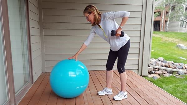 Weighted Twist with Stability Ball