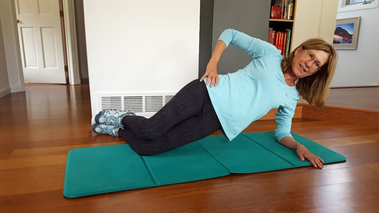 how to stop elbow clicking when doing press ups