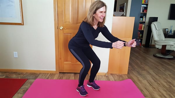 Squat - Kristen Carter | Design for Fitness